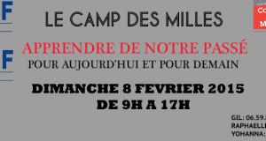 Journée au Camp des Milles avec l'UEJF Marseille le 8 février 2015