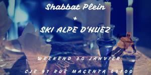 L'UEJF Lyon vous propose un Chabbat plein suivi d'une journée de ski aux Alpes d'Huez