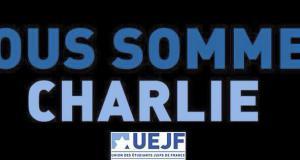 L'UEJF appelle à rejoindre la Marche Républicaine au départ de place de la République dimanche 11 janvier à 14h30 suite à l'attentat terroriste contre Charlie Hebdo.