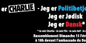Rassemblement En hommage aux victimes des attentats terroristes de Copenhague