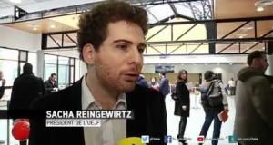 Reportage de I-Télé : Lutte contre la haine sur Internet : l'UEJF organise un colloque