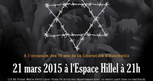 L'UEJF Lyon vous invite à la pièce de théatre de Benjamin Orenstein :»Ces mots pour sépulture»