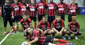 A Sarcelles, une équipe de foot israélienne judéo-arabe face aux jeunes des quartiers