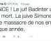 L'UEJF porte plainte contre Pierre-Claude Pailhoux, conseiller municipal de Rosny-sous-Bois pour provocation publique à la haine raciale