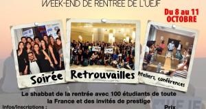 Les Univs d'automne de l'UEJF : du 9 au 11 octobre 2015 en région parisienne