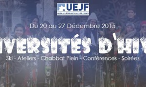 Les Universités d'hiver de l'UEJF